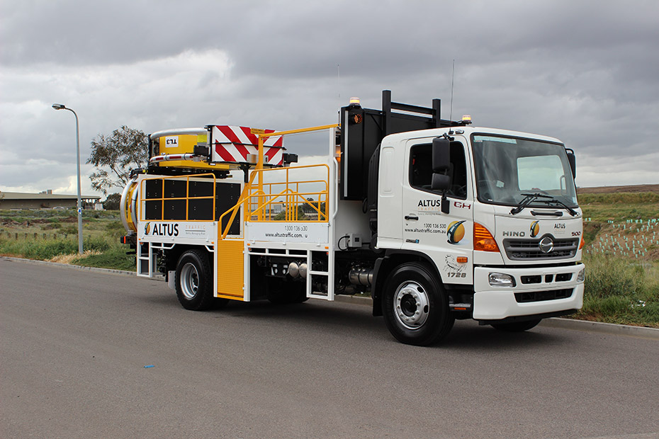 15t Hino 500 IPVs (Truck Mounted Attenuators) with Scorpion Mechanism
