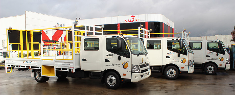 15t Hino 500 IPVs (Truck Mounted Attenuators)