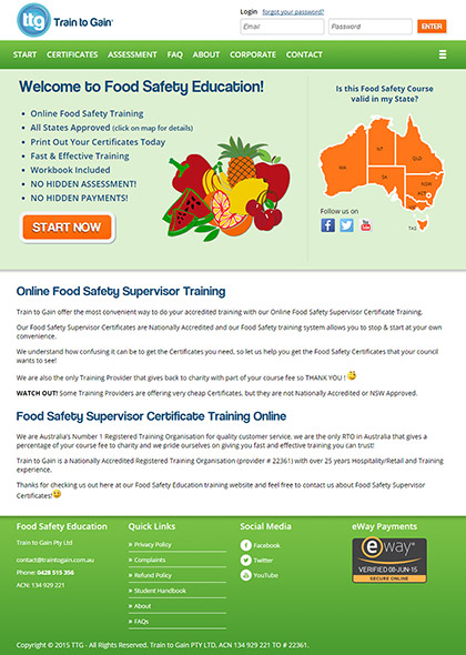 Food Safety Education - www.foodsafetyeducation.com.au